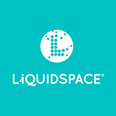 LiquidSpace logo teal